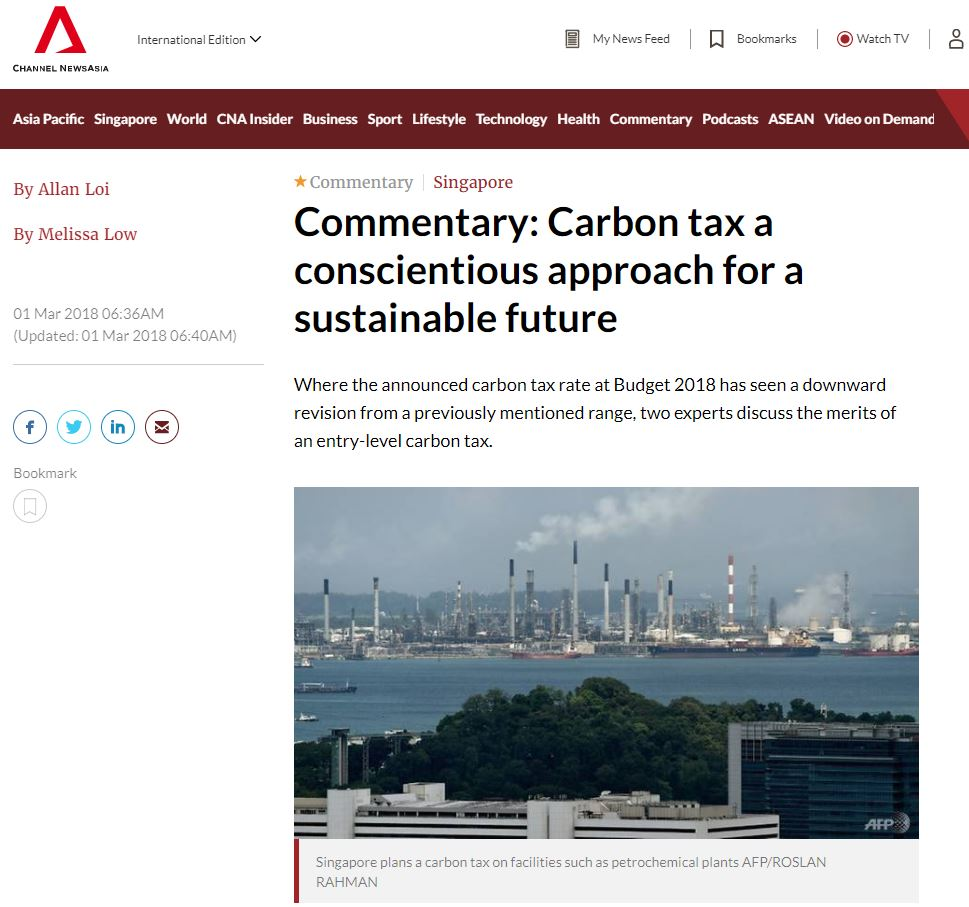 Carbon tax a conscientious approach for a sustainable future