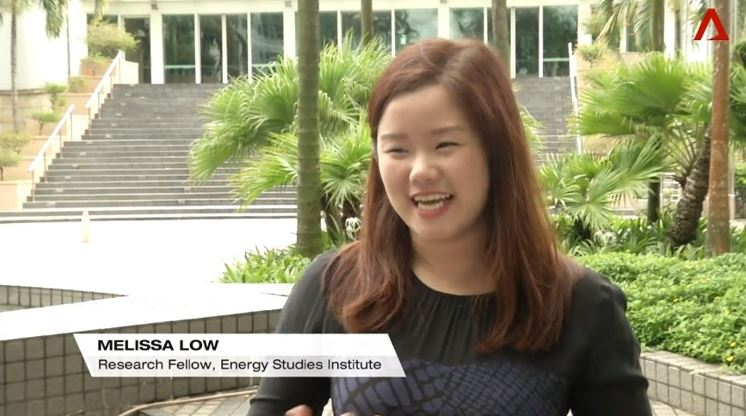 Ms Melissa Low interviewed by Channel News Asia on Singapore's Year