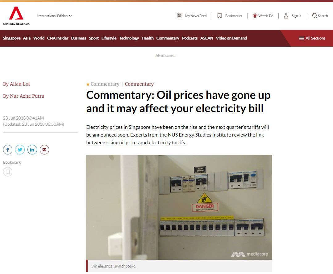 Oil prices have gone up and it may affect your electricity bill